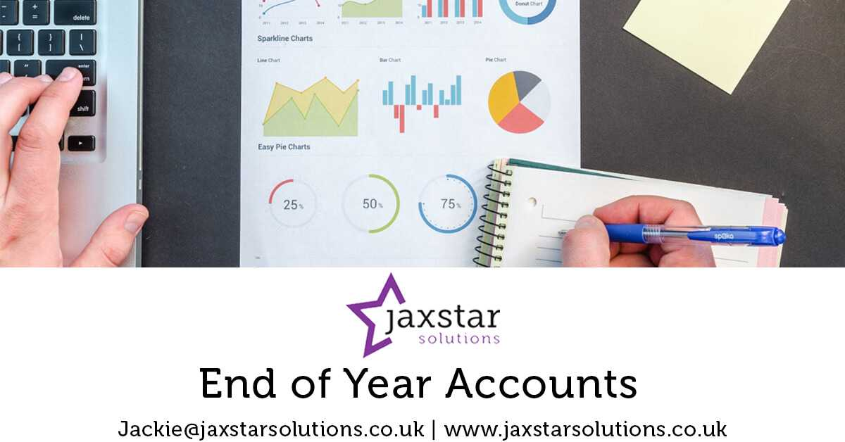 End of Year Accounts | Jaxstar Solutions
