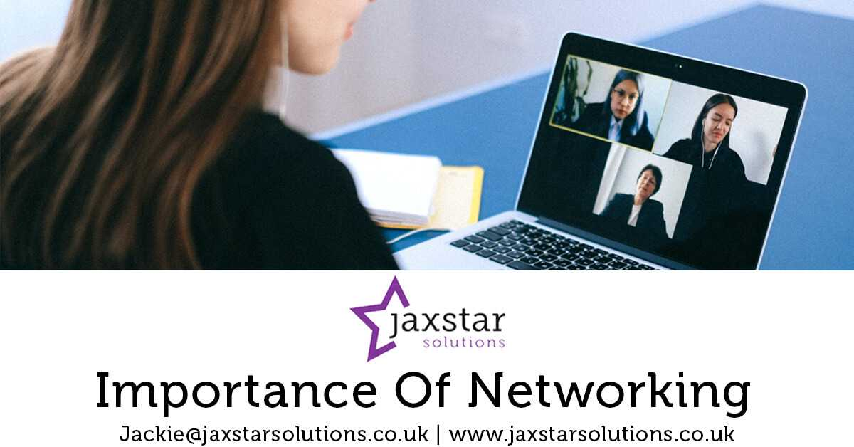 Importance of Networking | Jaxstar Solutions