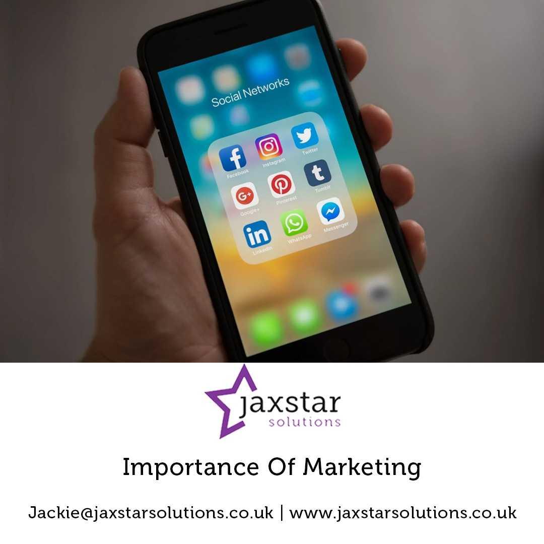 Importance of Marketing | Jaxstar Solutions