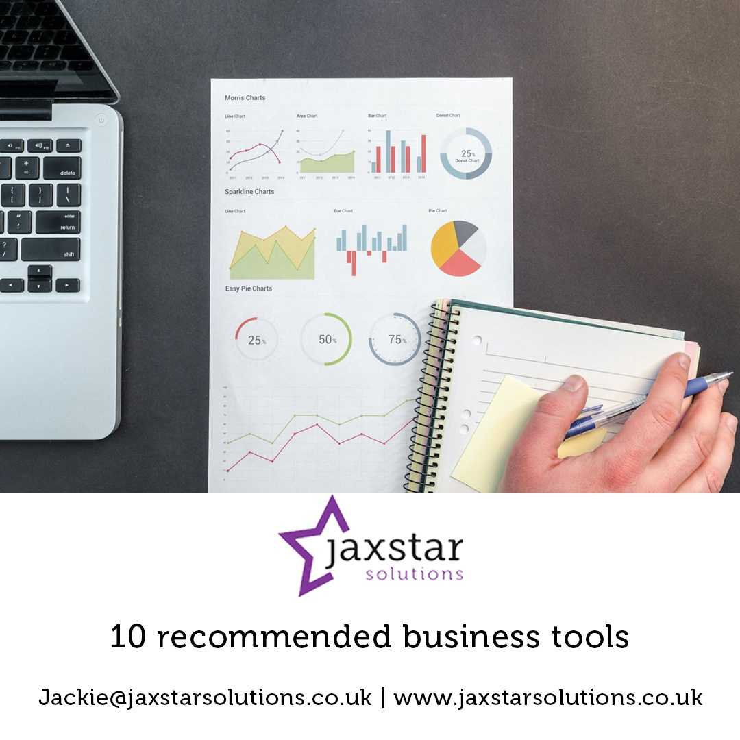 10 recommended business tools | Jaxstar Solutions