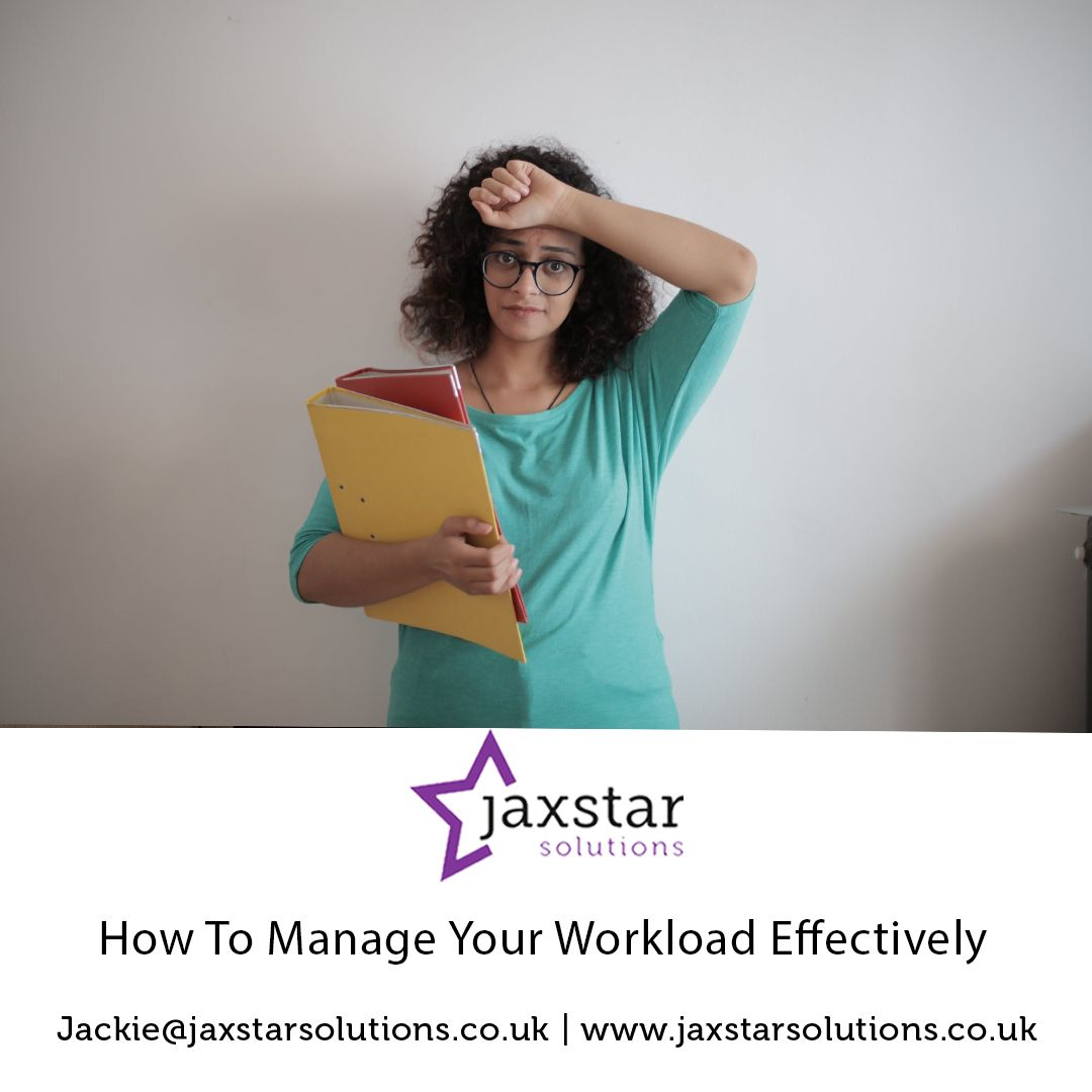 How to manage your workload effectively