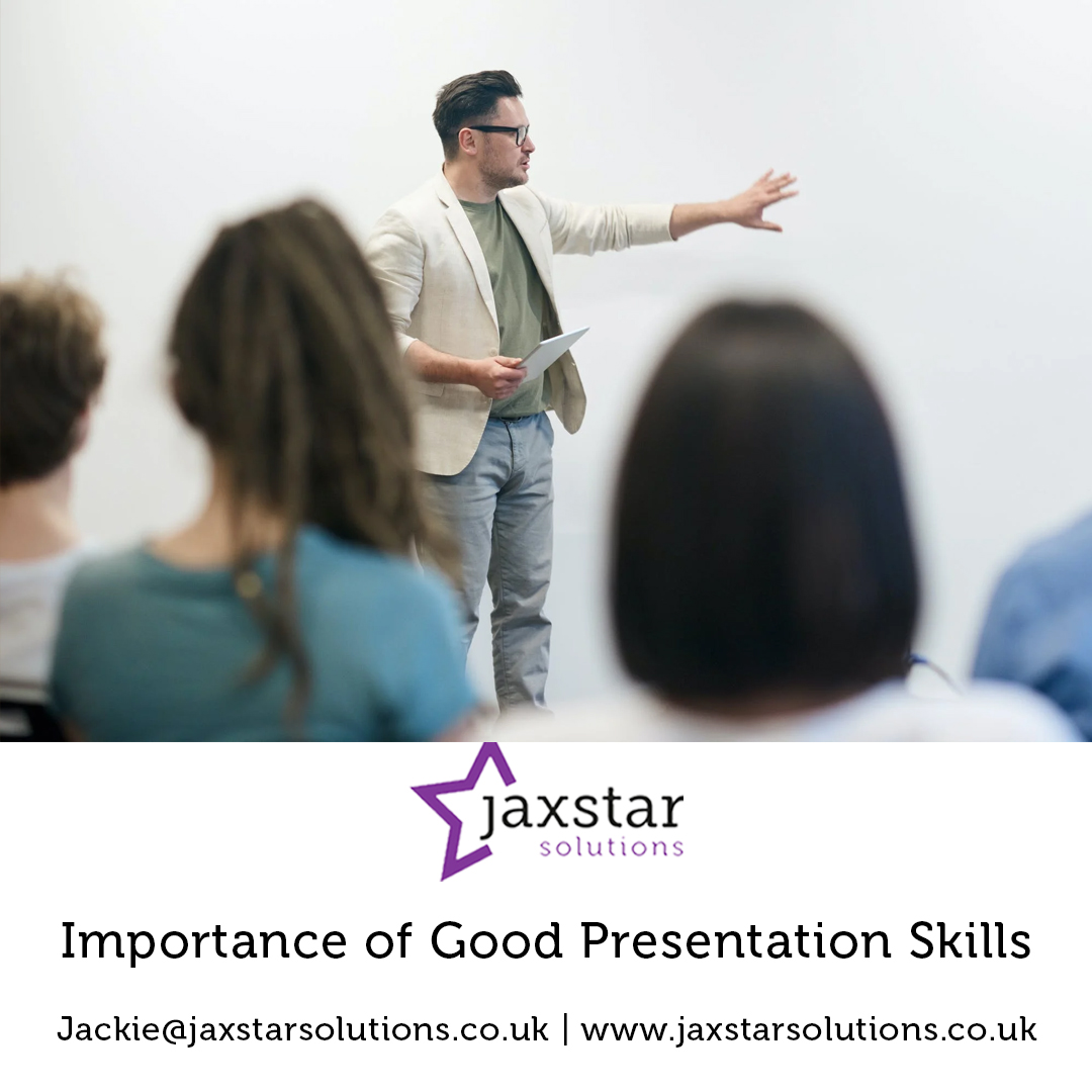 The importance of good presentation skills